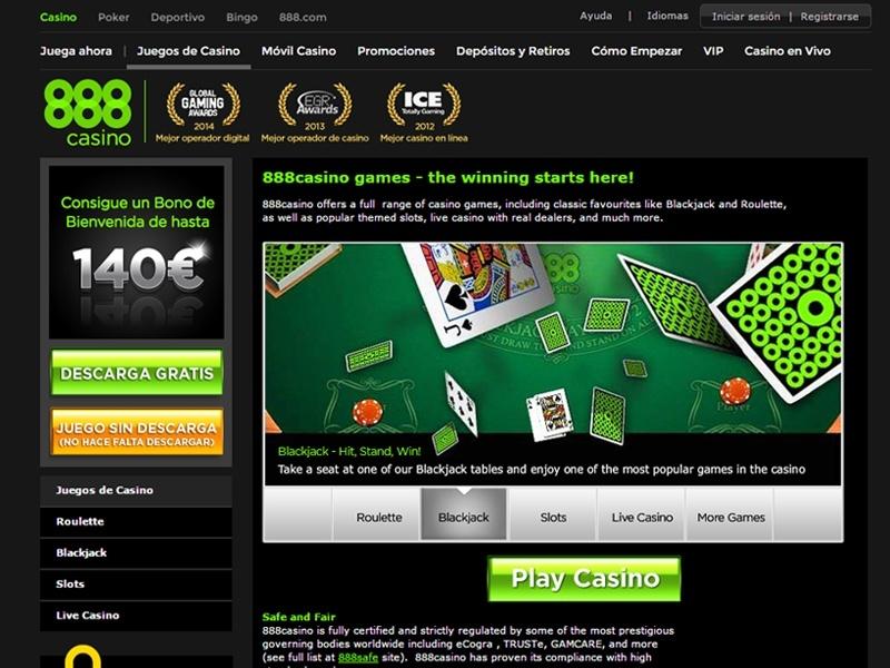 888 Casino Jugar Gratis